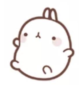 萌萌兔Pro messages sticker-1