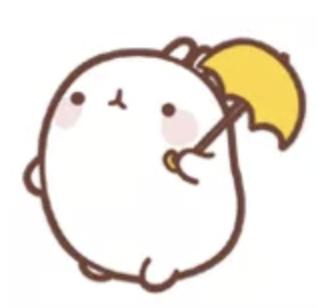 萌萌兔Pro messages sticker-3
