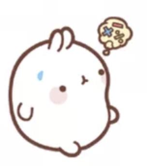 萌萌兔Pro messages sticker-9