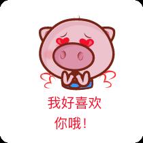 懊稞手机客户端-小猪贴纸 messages sticker-9