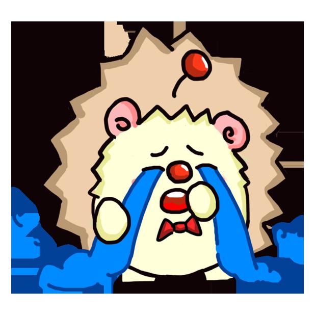 TaFo hedgehog messages sticker-2