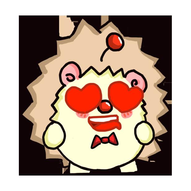 TaFo hedgehog messages sticker-9
