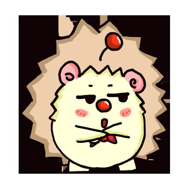 TaFo hedgehog messages sticker-3