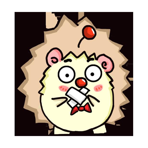 TaFo hedgehog messages sticker-11