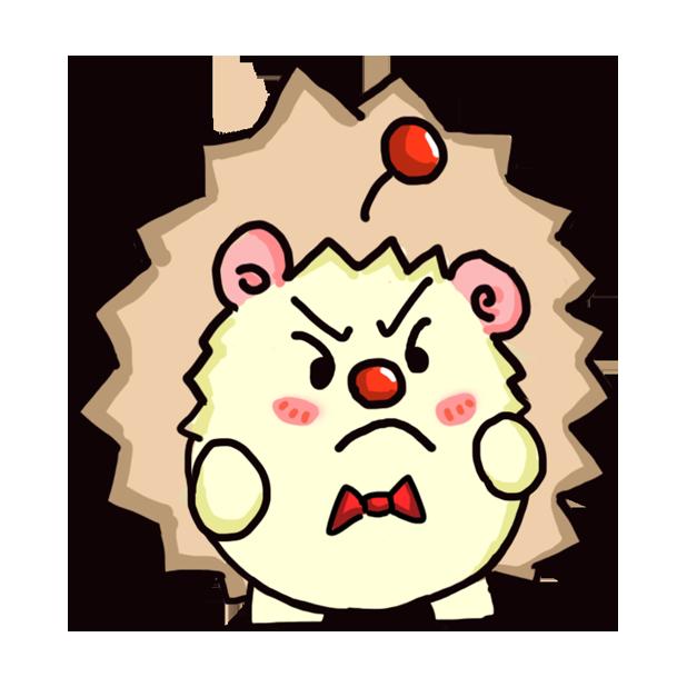 TaFo hedgehog messages sticker-6