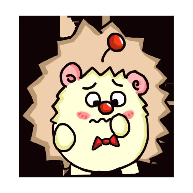 TaFo hedgehog messages sticker-1