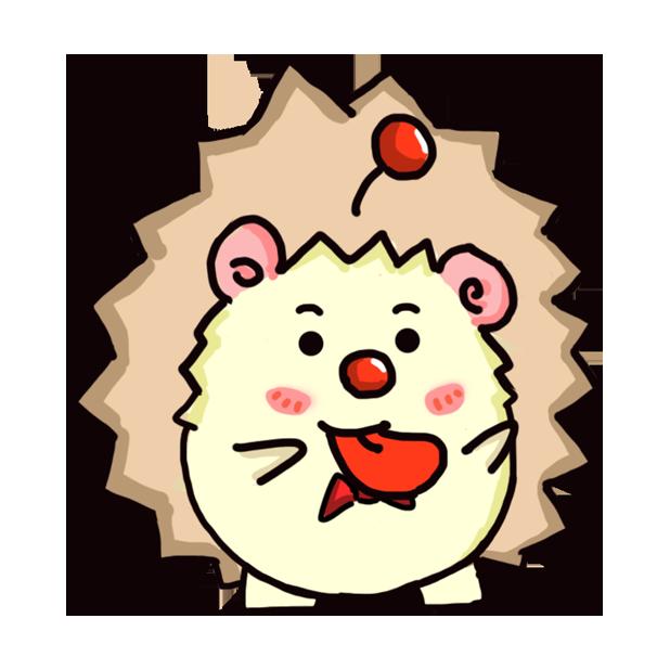 TaFo hedgehog messages sticker-8