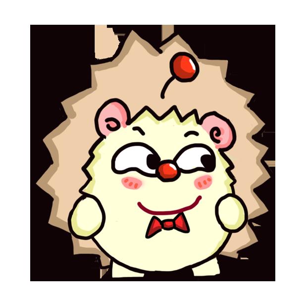 TaFo hedgehog messages sticker-4
