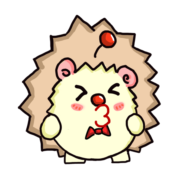 TaFo hedgehog messages sticker-5