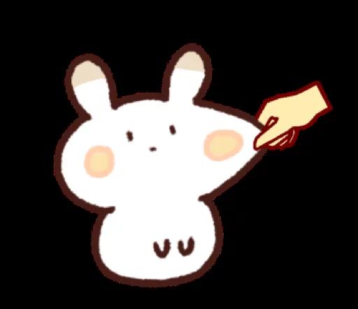 ShortRabbitSticker messages sticker-4