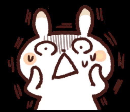 ShortRabbitSticker messages sticker-2
