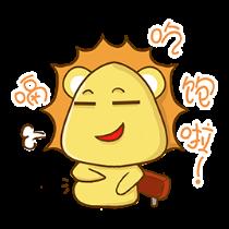 铋崴手机客户端-小狮子可爱贴图 messages sticker-0