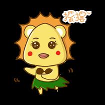 铋崴手机客户端-小狮子可爱贴图 messages sticker-6