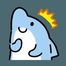 CuteDolphin messages sticker-9