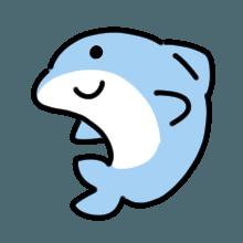 CuteDolphin messages sticker-0