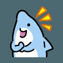 CuteDolphin messages sticker-2