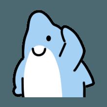 CuteDolphin messages sticker-5