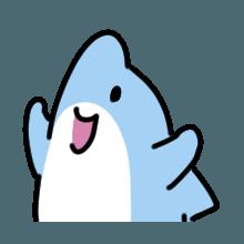 CuteDolphin messages sticker-10