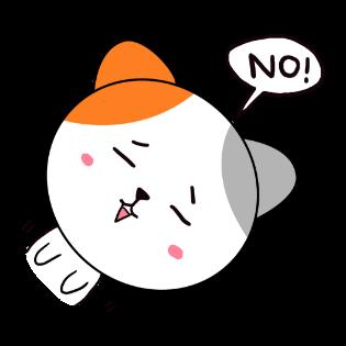 歪头猫贴图 messages sticker-11
