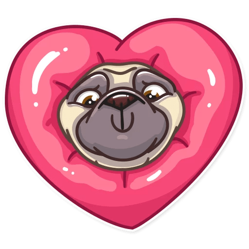Funny Pug Stickers Pack messages sticker-7