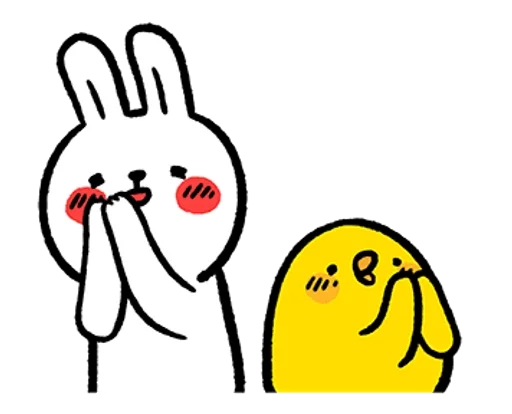 懒兔 messages sticker-11