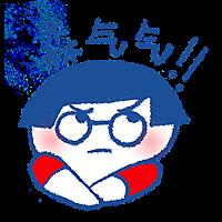 Sad boy happy girl messages sticker-0