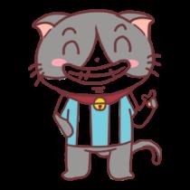 足球猫贴图 messages sticker-6