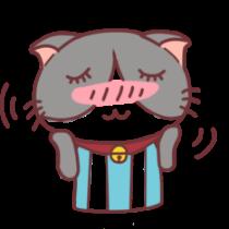 足球猫贴图 messages sticker-8