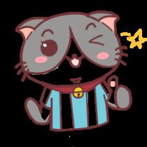 足球猫贴图 messages sticker-2