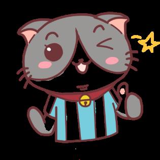 足球猫贴图 messages sticker-3