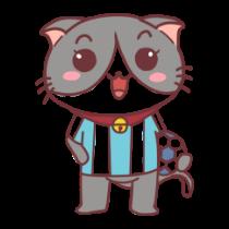 足球猫贴图 messages sticker-4