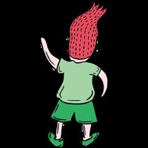 吉祥体育足球-绿衣服球员贴图 messages sticker-6