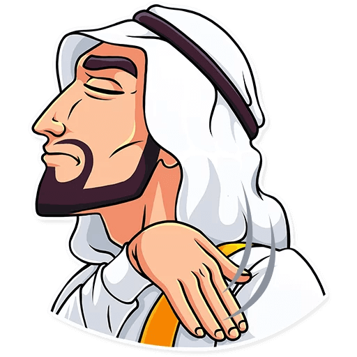 Sheikh Stickers Pack messages sticker-11