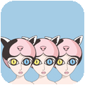 Qiqi+ messages sticker-7
