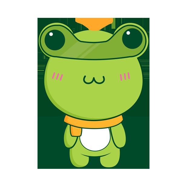 Biubiu frog messages sticker-7