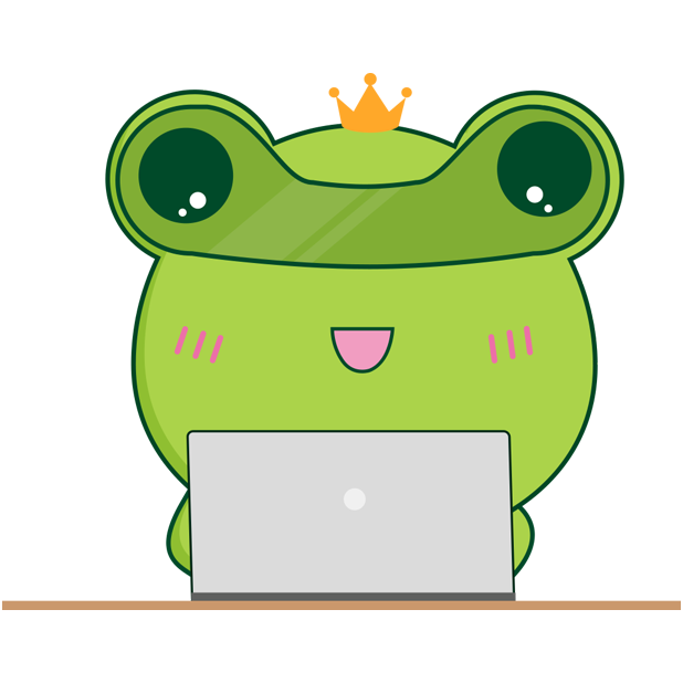 Biubiu frog messages sticker-6