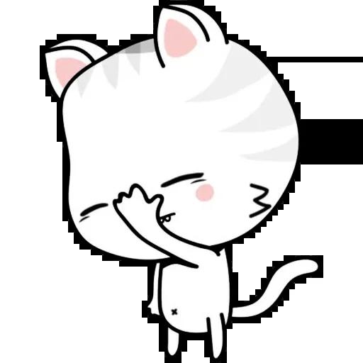 Kitty Cutty messages sticker-3