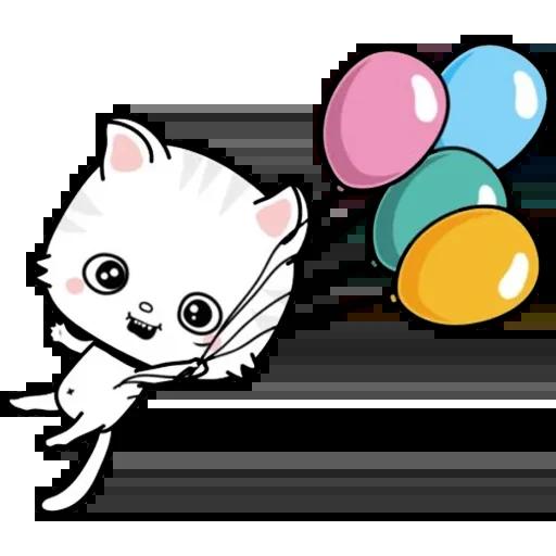 Kitty Cutty messages sticker-2