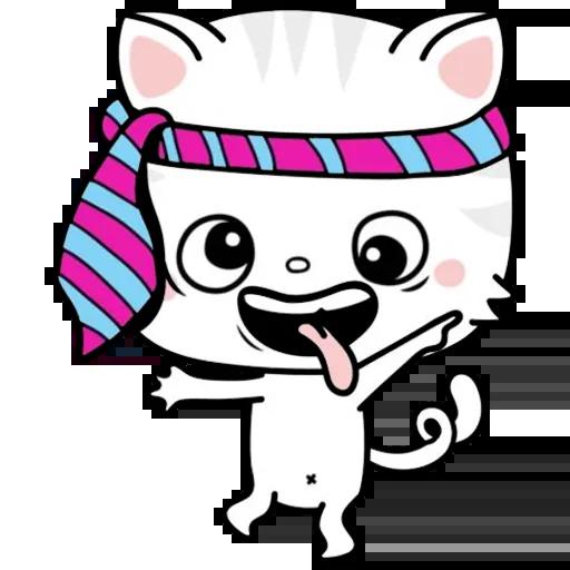 Kitty Cutty messages sticker-6