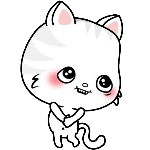 Kitty Cutty messages sticker-1