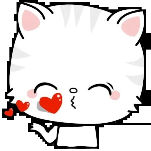 Kitty Cutty messages sticker-11