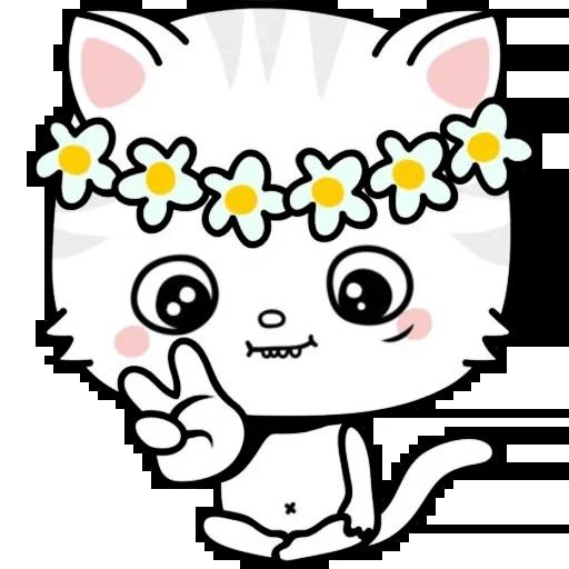 Kitty Cutty messages sticker-5
