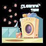 小小洗衣机 - Little Washer Sticher messages sticker-0