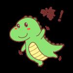 萌萌小笨龙 - Little Dragon Sticker messages sticker-5