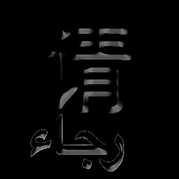 Arabic Chinese Sticker messages sticker-5