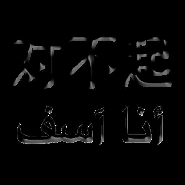 Arabic Chinese Sticker messages sticker-3
