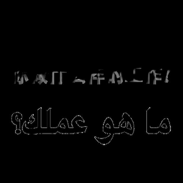 Arabic Chinese Sticker messages sticker-8