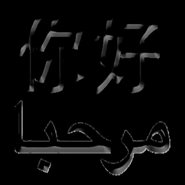Arabic Chinese Sticker messages sticker-0