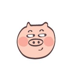 Maiale Emoji messages sticker-5