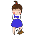 littleGirl-Sticker messages sticker-7